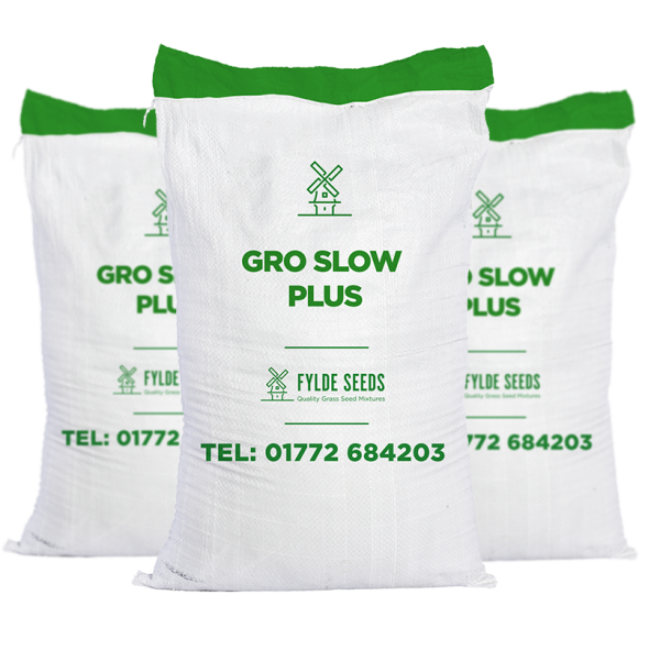 Gro Slow grass seeds Plus