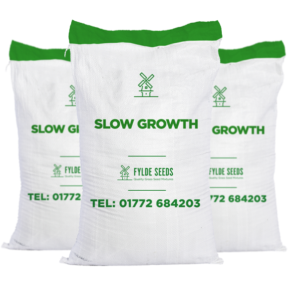 Slowgrowth grass seed bags